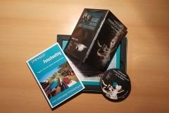Bilder DVD mit der optionalen Geschenkverpackung inklusive Bilderrahmen