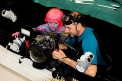 Unterwasser-Bodypainting