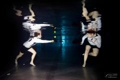 Sport Unterwasser Fotoshooting
