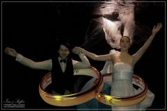 Unterwasser Hochzeitsshooting im Bayrischen Fernsehen