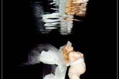 Babybauch Unterwasser Fotoshooting