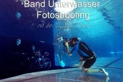 Band Unterwasser Fotoshooting mit der Lys Jane Band