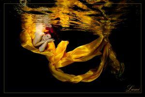 Unterwasser Fotoshooting - mit Lumi