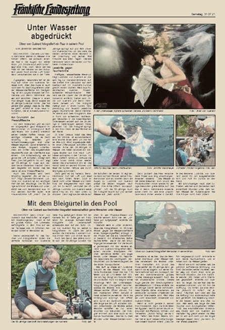 Fränkische Landeszeitung - Unter Wasser abgedrückt