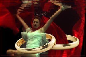 Hochzeit Unterwasserfotoshooting