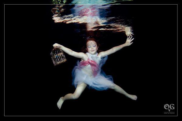 Kinder Unterwasser Shooting