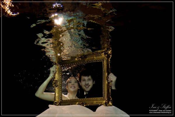 Hochzeit Unterwasser Shooting